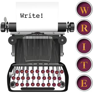 Step 1: Write!