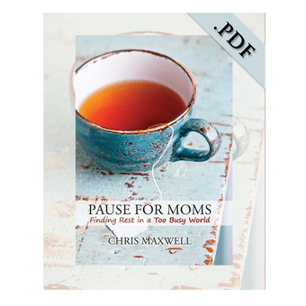 Pause For Moms e-book PDF