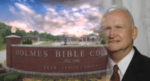 Dr. James Leggett, Holmes Bible College