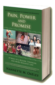 Original 2007 edition of Pain, Power and Promise