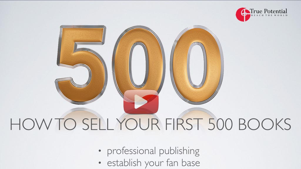 How to sell your first 500 books